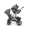 Автокресло Uppababy MESA i-size JORDAN графитово-серый меланж